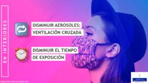 Pantallazo vídeo formación para IES