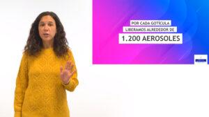 Pantallazo vídeo Formación COVID para IES