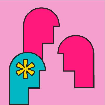 Ilustración Sospecha, Caso y Contagio