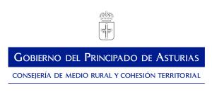 Logotipo Consejería de Medio Rural y Cohesión Territorial de Asturias